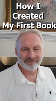 How I created my first book (Video)