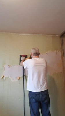 It's Wall Paper Removal Madness